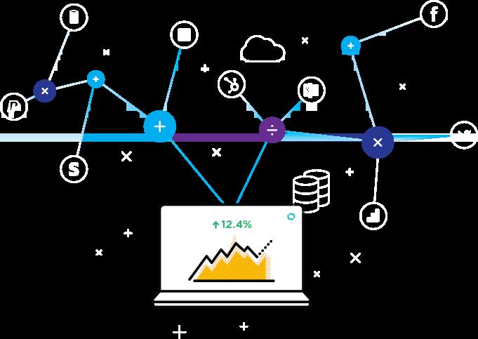 Databox Data Calculations - multiple metrics, sources, arbitrary formulae