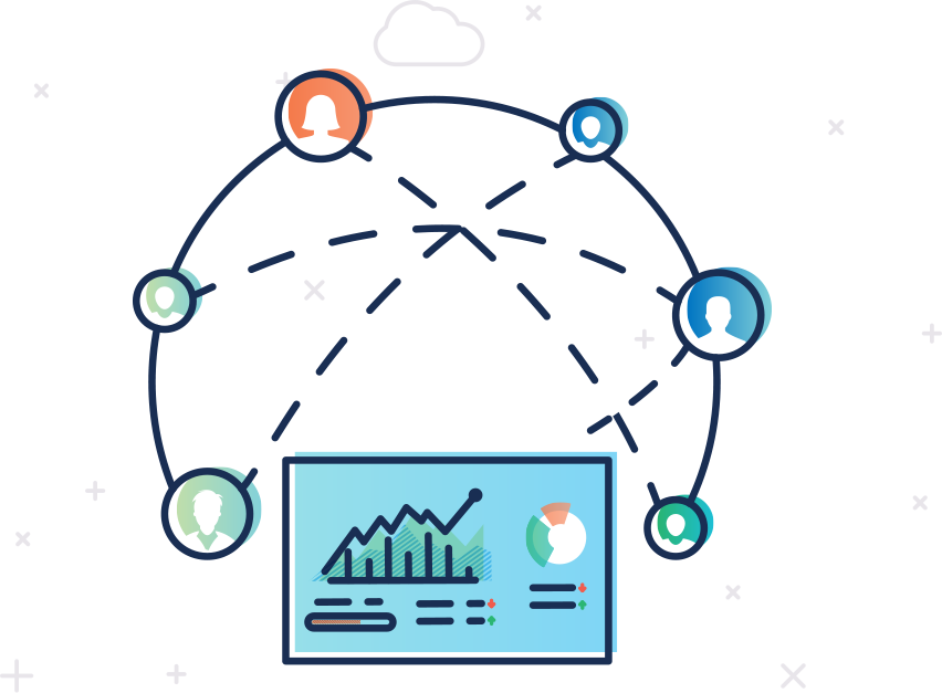 Share important metrics