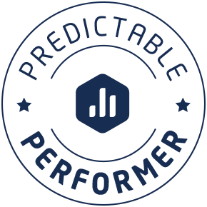 Predictable performer badge